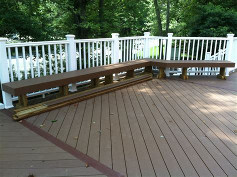 tech deck bench deck materials archadeck custom decks patios sunrooms
