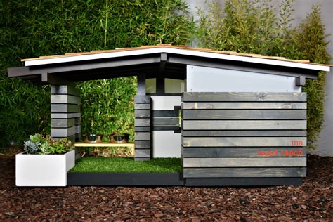 modern dog houses modern dog house home design