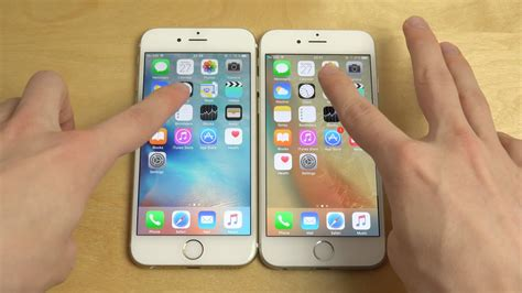 iphone 6 ios 9 0 1 vs iphone 6 ios 9 1 beta 2 which is faster