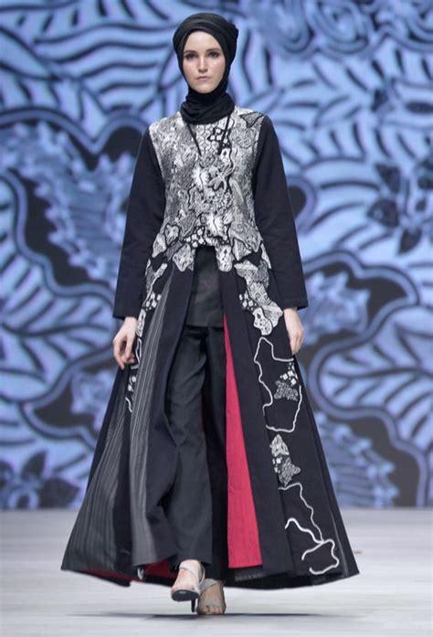 model baju pesta untuk yang berhijab kumpulan gambar baju batik modern wanita berhijab masa