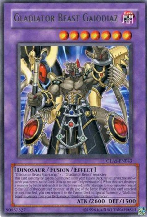 Kartu Yugioh Gladiator Beast Andal gladiator beast gaiodiaz yu gi oh fandom powered by wikia