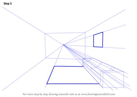 1 point perspective room tutorial learn how to draw one point perspective room one point