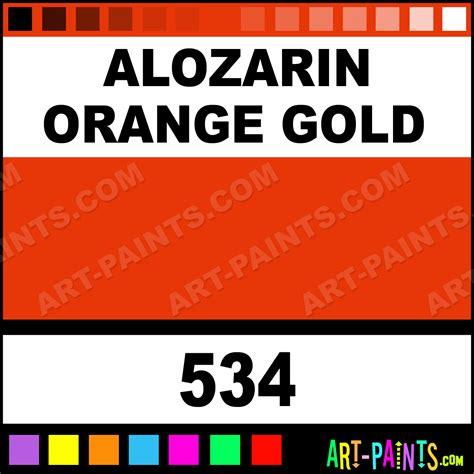 alozarin orange gold artist paints 534 alozarin orange gold paint alozarin orange gold