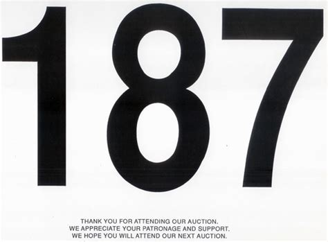 auction bid card template
