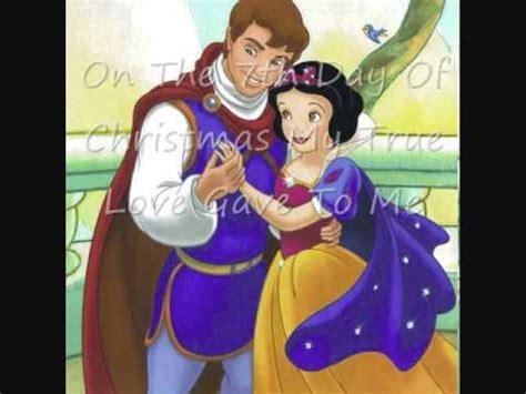 disney princesses  days  christmas youtube