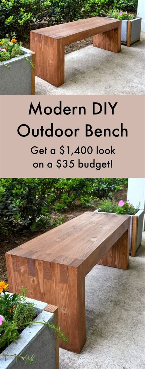 25 best ideas about outdoor seating on diy patio benches and garden seating backyard bench diy home outdoor decoration
