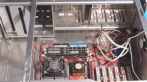 computer interno all interno di un computer