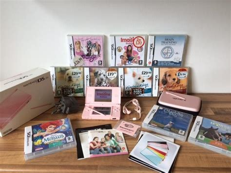 More Ds Lite Plush Goodness by Pink Nintendo Ds Lite With Nintendogs Bundle And More