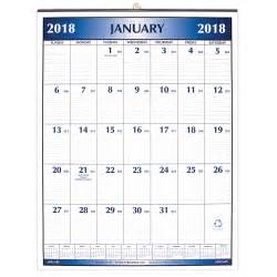 Calendar Big 2018 Large Office Wall Calendar 2018 Payne Publishers