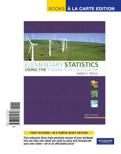 student solutions manual for elementary statistics using the richleon on marketplace sellerratings