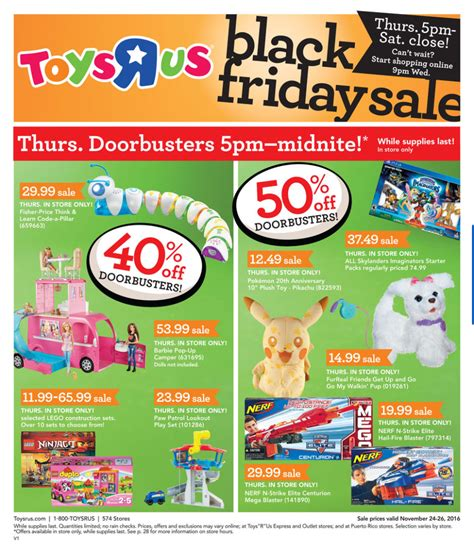 black doll toys r us toys r us black friday 2017 ads deals and sales