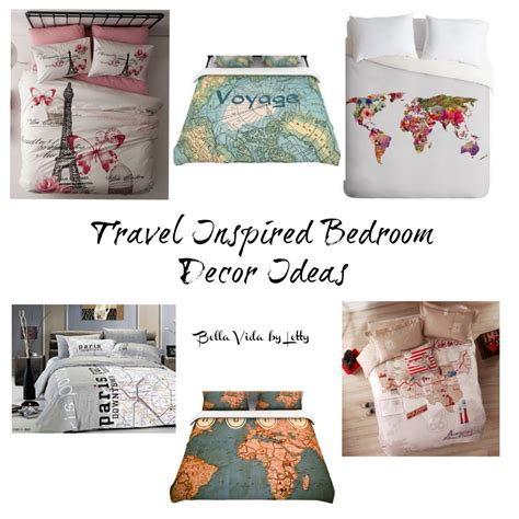 travel bedroom decor bella vida by letty