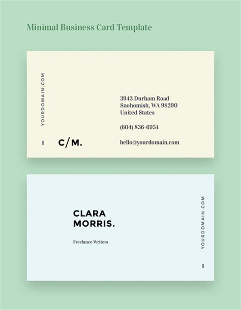 business card templates for freelancers templates gratuitos de cart 245 es de visita para arquitetos