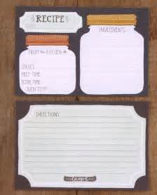 jar recipe cards set of 50 with dividers by 1canoe2 on etsy recipes jars