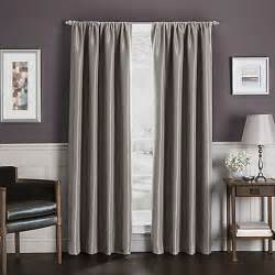 Blinds Utah Buy Sebastian 63 Inch Rod Pocket Insulated Total Blackout