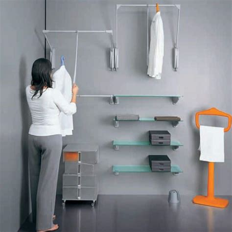 appendiabiti per armadio saliscendi appendiabiti servetto otto innominato accessori cabina