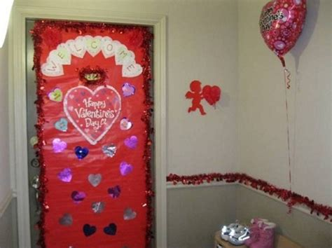 door decorations for valentines classroom door decoration ideas designcorner