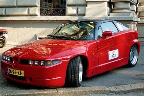 Size Of 2 Car Garage file red alfa romeo sz jpg wikimedia commons