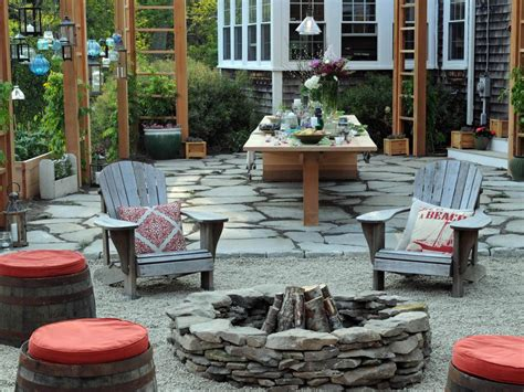 backyard pit design outdoor fire pits and fire pit safety hgtv