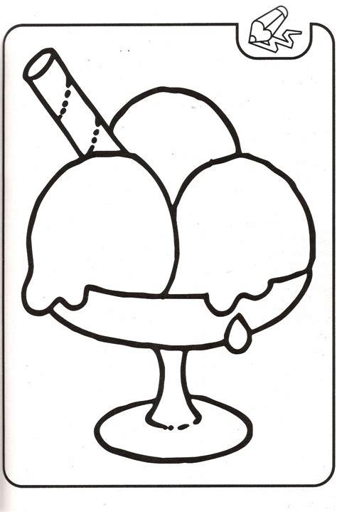 imágenes para dibujar helados dibujos para colorear dibujos de helado para colorear