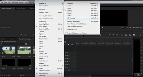adobe premiere pro workspace small new features in premiere pro cc 2015 that you might