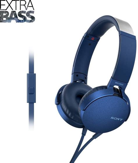 Sony Mdr Ex15ap Earphone Original Blue 1 sony mdr xb550ap headset with mic price in india buy