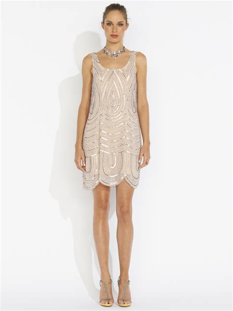 beaded shift dresses deco beaded shift dress portmans my style