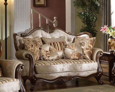 traditional style loveseats brown loveseat in traditional style mcfsf8700 l