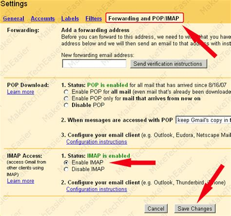 gmail imap settings iphone how to configure imap and sync iphone notes to your email