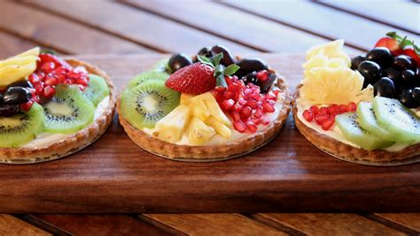 fruit tart fruit tart recipe custard