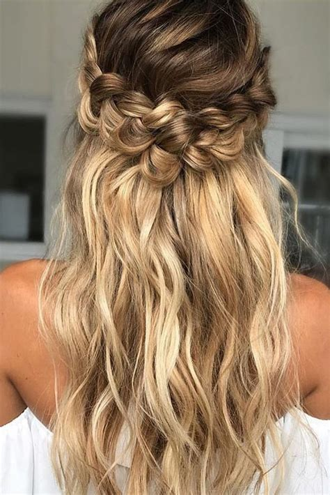 hairstyles with loose curls and braids 39 braided wedding hair ideas you will love braided