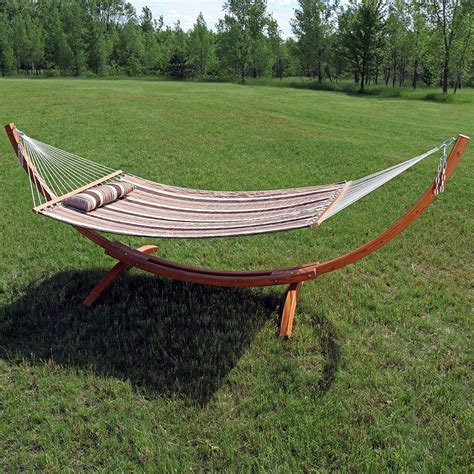 Wooden Hammock Stand Wooden Hammock Stand Or Hammock Stand Set Curved Arc