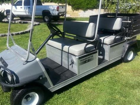 golf cart bed find 2007 golf cart limo 6 seater club cart utility bed