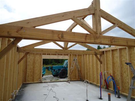 grange 224 ossature bois et charpente traditionnelle dans