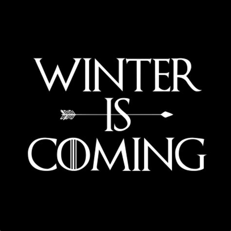 Tshirt Winter Is Coming New t shirts winter is coming black 9yr 11yr