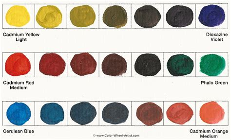 complementary colors the color theory and practical painting tips by color wheel artist