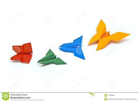 Ancient Japanese Origami - japanese origami stock images image 17180884