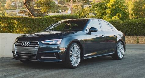 audi a4 manual transmission review the motoring world usa the 2017 audi a4 with 6 speed