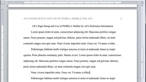 Apa Format Indent Paragraphs | perrla knowledge base perrla com