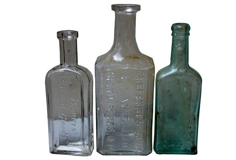 retro glass vintage glass bottle collection omero home
