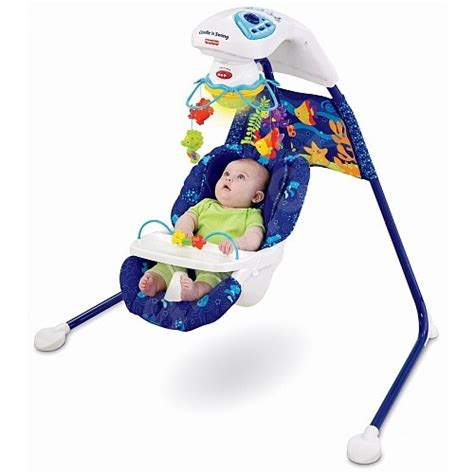 fisher price swing age fisher price ocean wonders baby 2 in 1 cradle swing with