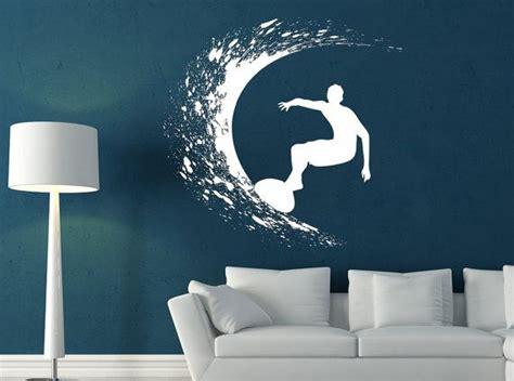 surfer decal sticker vinyl wall home room decor