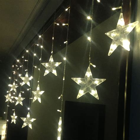 star curtain lights best wholesale warm white 3m led starry star curtain