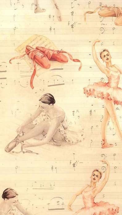 imagenes vintage ballet ballet themed craft paper from italy great craft