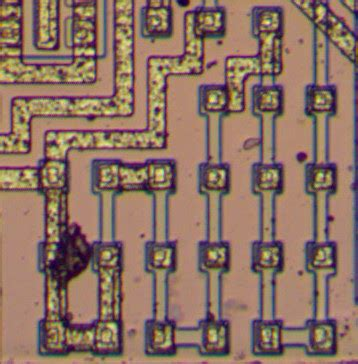 a shorted resistor has superbeta transistors inside die photos and analysis of the lm108 electronics infoline