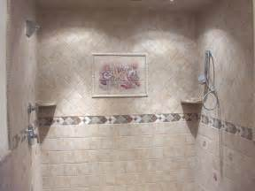 Shower Tile Designs For Bathrooms by Bathroom Tile Design Ideas
