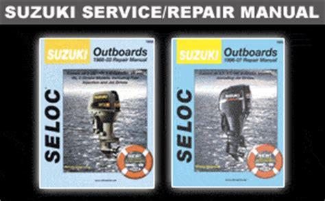 Suzuki Outboards Manual Suzuki Outboard Repair Manual Table Of Contents Pdf File