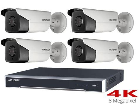 Cctv Hikvision hikvision 4k cctv system with 4 50m bullet cameras 4tb