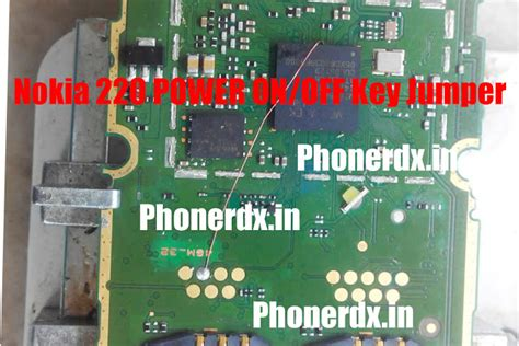 Lcd Nokia 220 215 Ori nokia 220 power key on problem jumper solution ways