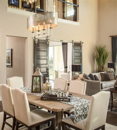 Transitional Dining Rooms furniture chic shell chandelier fashion toronto